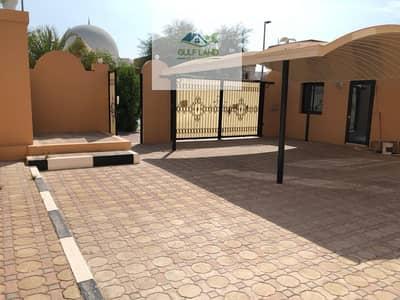 فیلا 8 غرفة نوم للايجار في المشرف، أبوظبي - 8 bedrooms villa for rent with maids room driver room 4 kitchen