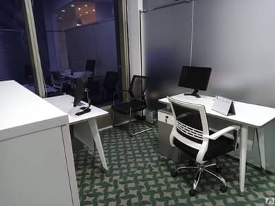 BRAND NEW CUSTOMIZED LUXURIOUS PRIVATE OFFICES AT SHEIKH ZAYED ROAD|PRESTEGIOUSE LOCATION|1 MNT WALK AWAY FROM METRO
