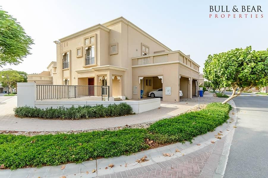 فیلا في فلل السدر واحة دبي للسيليكون 4 غرف 138000 درهم - 4386406