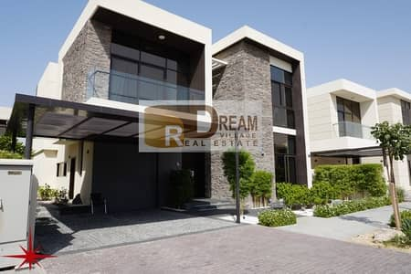 3 Bedroom Villa for Sale in DAMAC Hills (Akoya by DAMAC), Dubai - Owned a villa 3 rooms of international design with golf view submitted