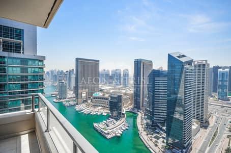 فلیٹ 3 غرفة نوم للبيع في دبي مارينا، دبي - Chiller Free I Full Marina View I Bright I Stunning