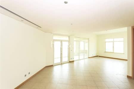 فلیٹ 3 غرف نوم للايجار في نخلة جميرا، دبي - A Type | Garden view | Vacant | 3 bed |