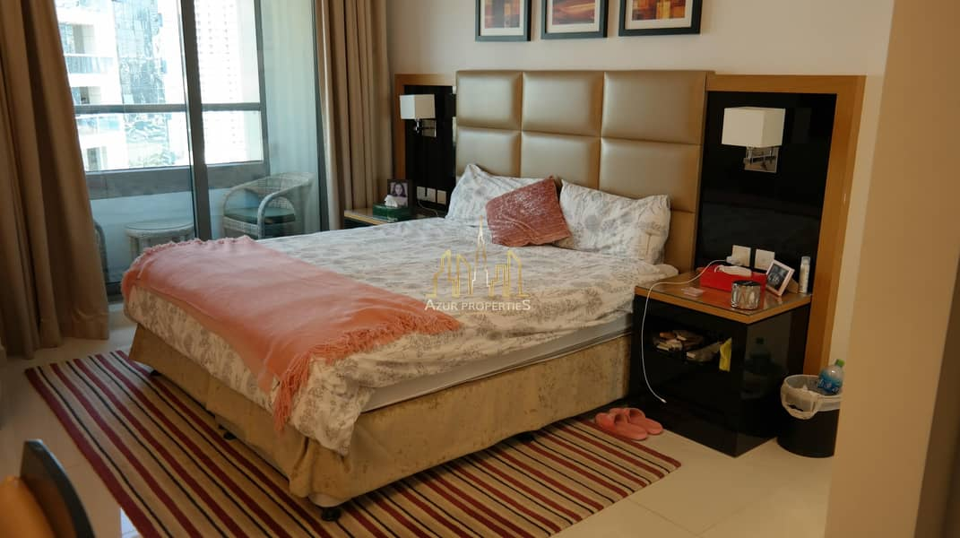 Spacious  and Furnished Studio | Vacant | Balcony