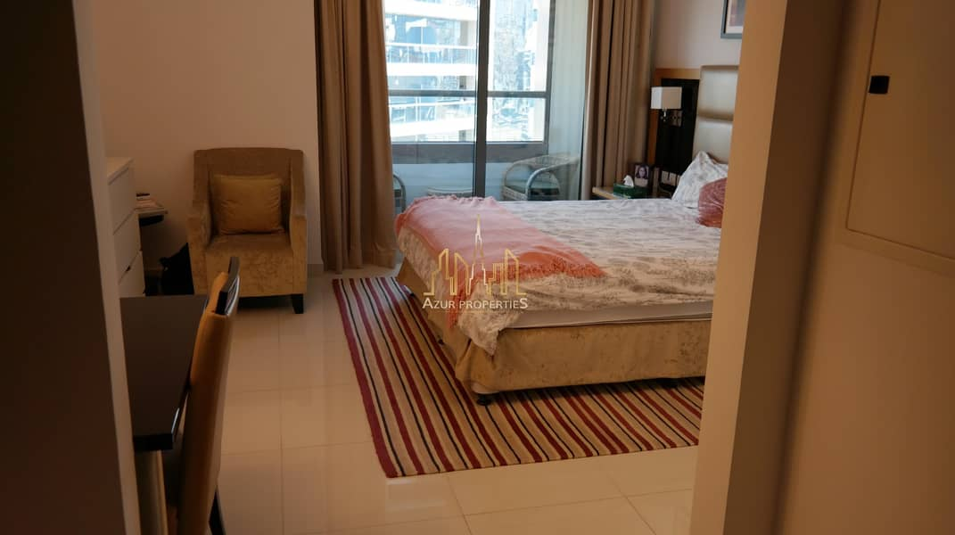 16 Spacious  and Furnished Studio | Vacant | Balcony