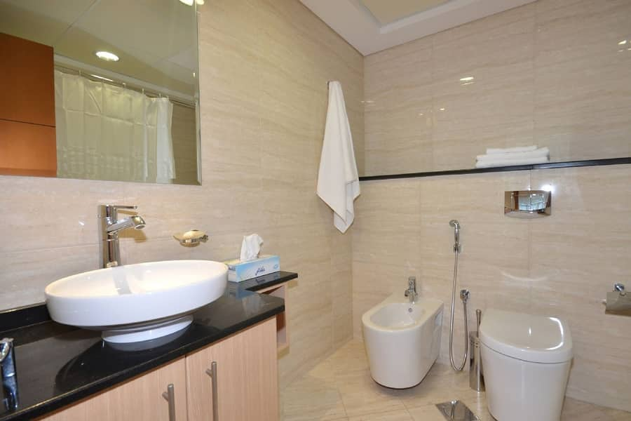 10 Full Sea View | Fully Furnished 2 BR | Near Tram
