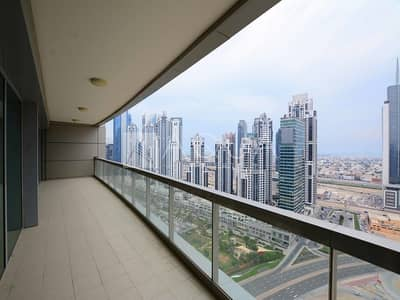 فلیٹ 2 غرفة نوم للايجار في وسط مدينة دبي، دبي - Burj Khalifa Views | High Floor | Vacant