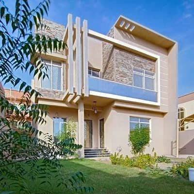 5 Bedroom Villa for Sale in Al Rawda, Ajman - Luxury villa for sale freehold 100% with access to bank financing and facilitate all procedures