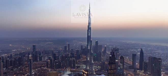 THE VIEW & LOCATION SAYS IT ALL | PRESENTING DOWNTOWN VIEWS II WITH PANORAMIC VIEW OF BURJ KHALIFA