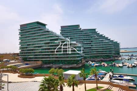 شقة 2 غرفة نوم للايجار في شاطئ الراحة، أبوظبي - Sea View! Fully Furnished 2BR Apt with Balcony