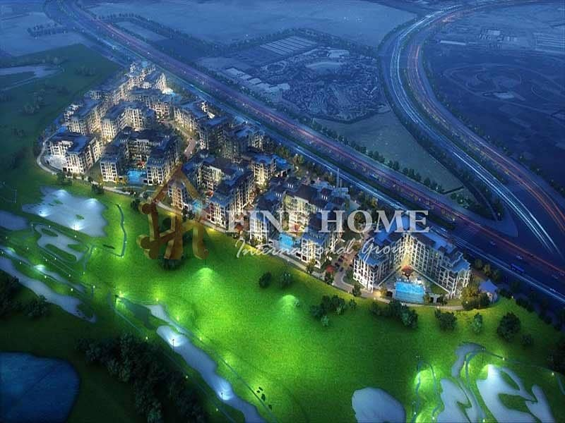 2 With Amazing View 1BR Apartment in Ansam Tower