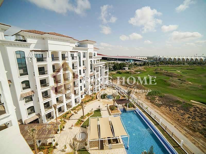 8 With Amazing View 1BR Apartment in Ansam Tower