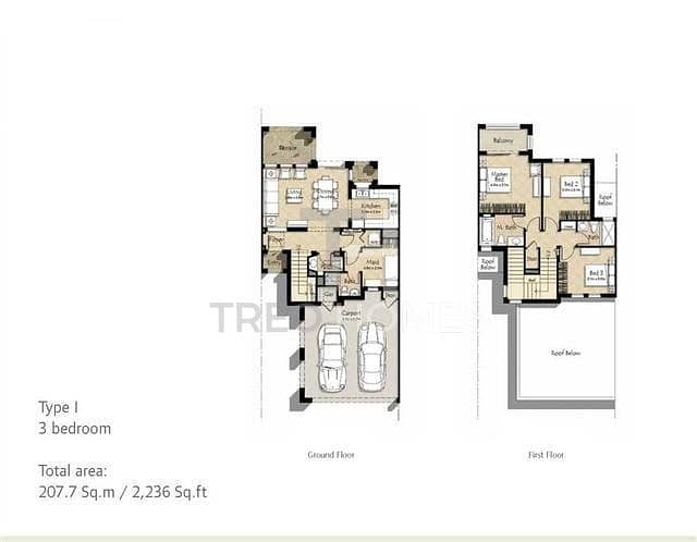 17 3 Bed + M | Multiple Types Available