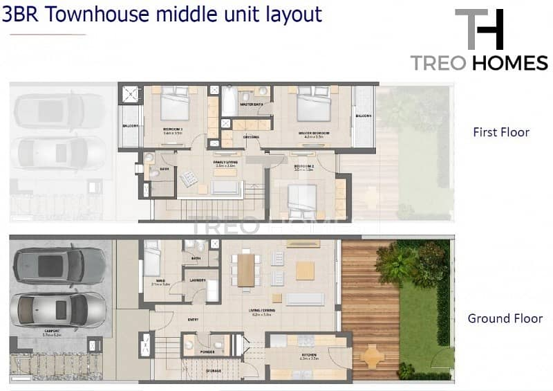11 3 Bed + Maid's | Near to pool and park