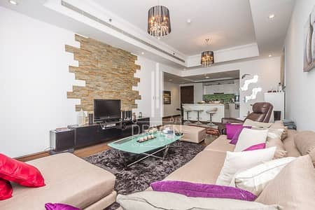 2 Bedroom Flat for Sale in Business Bay, Dubai - Vacant Upgraded 2BR  Unit 01  Canal and Sea View