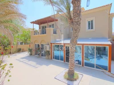 4 Bedroom Villa for Rent in Arabian Ranches, Dubai - Furnished| 4Bed+Maid | B2 | Single Row