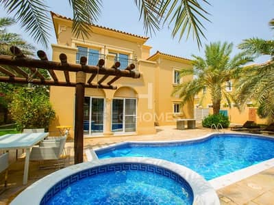 4 Bedroom Villa for Sale in Arabian Ranches, Dubai - Park Facing | I Upgraded 4Beds | Type B2