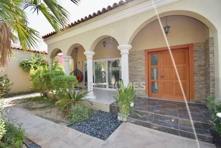 4 Bedroom Villa for Sale in Green Community, Dubai - EXCLUSIVE | Upgraded Large Plot by Pool