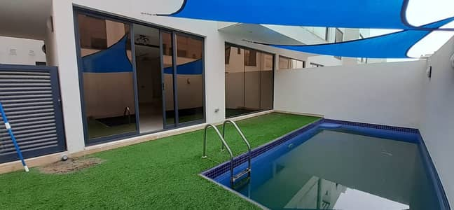 4 Bedroom Villa for Rent in Mirdif, Dubai - MODERN 4BR VILLA WITH MAID ROOM|PRIVATE POOL|GRDN