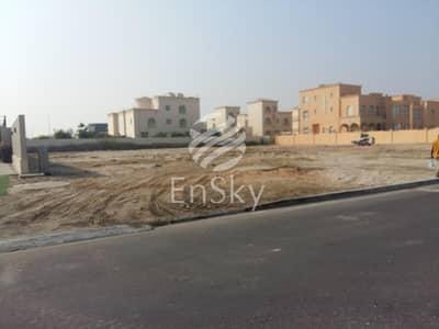 ارض استخدام متعدد  للبيع في الزعاب، أبوظبي - Prime Location faced on two streets