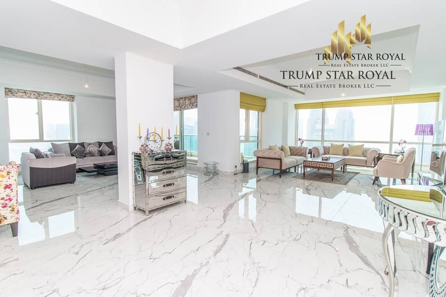 5Br+M Full Marina Penthouse in Al Mesk Tower