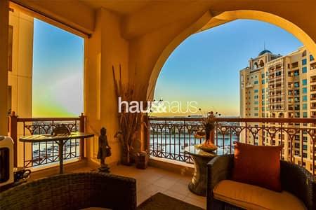 شقة 2 غرفة نوم للبيع في نخلة جميرا، دبي - Vacant | High Floor | C Type | Water View