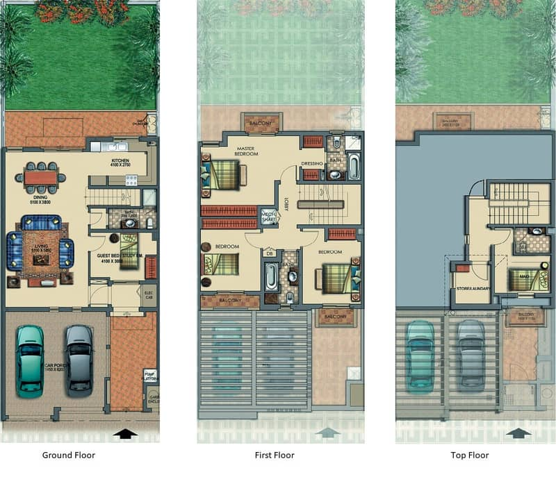 10 Exclusive | Four Bedrooms TH2 | Investment