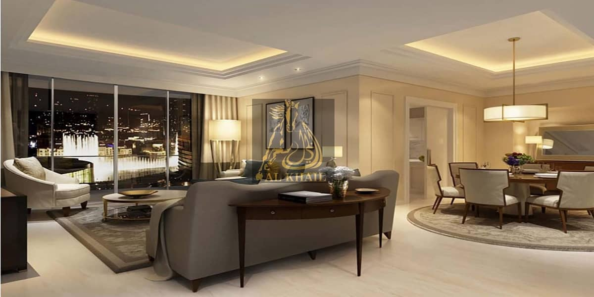 High-End 2BR Apartment for sale in Downtown Dubai with 3 Years Post-Handover Payment Plan | Only 10% Down Payment