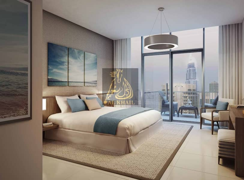 2 High-End 2BR Apartment for sale in Downtown Dubai with 3 Years Post-Handover Payment Plan | Only 10% Down Payment