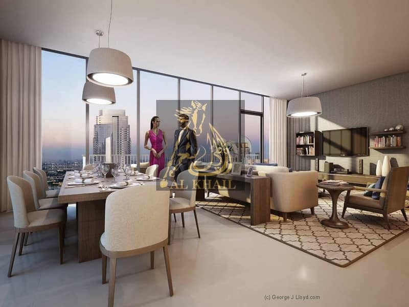 13 High-End 2BR Apartment for sale in Downtown Dubai with 3 Years Post-Handover Payment Plan | Only 10% Down Payment