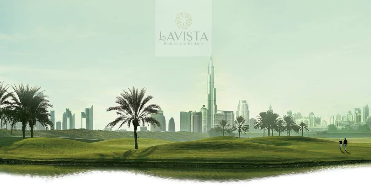 2 Your Living in The Green Heart of Dubai