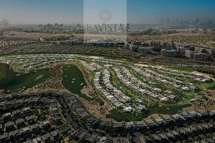 Your Living in The Green Heart of Dubai