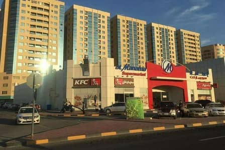 2 Bedroom Flat for Rent in Garden City, Ajman - OPEN VIEW!! Nice 2 Bed Hall with Balcony in Garden City near Ajman University