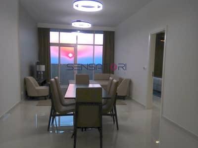 شقة 3 غرف نوم للبيع في قرية جميرا الدائرية، دبي - EXCLUSIVE TOP FLOOR FULLY FURNISHED 3BR