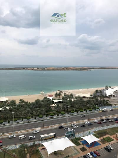 4 Bedroom Apartment for Rent in Corniche Area, Abu Dhabi - Sea view 4 bedrooms apartment  with maids room wash room