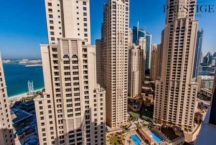 1 Bedroom Flat for Sale in Dubai Marina, Dubai - Vacant I 1 Bed I High Floor I Great Views