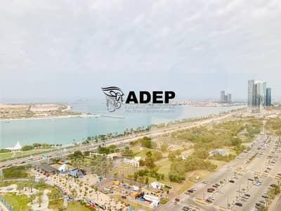 شقة 4 غرفة نوم للايجار في منطقة الكورنيش، أبوظبي - 4BHk Full Sea View Apt Hot Offer