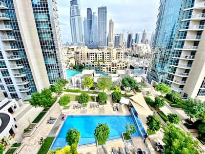 3 Bedroom Apartment for Sale in Downtown Dubai, Dubai - 3 Bedroom   Partial Fountain & Burj View