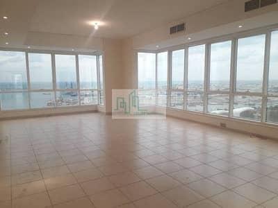شقة 3 غرف نوم للايجار في الزاهية، أبوظبي - شقة ضخمة من ثلاث غرف نوم مع غرفة للخادمة متوفرة في شارع مينا أبو ظبي