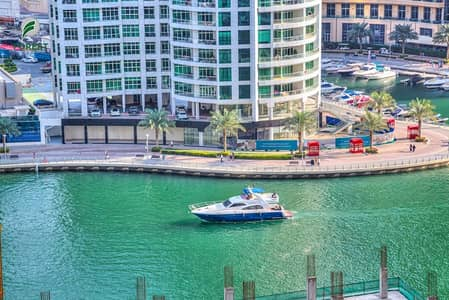 4 Bedroom Flat for Rent in Jumeirah Beach Residence (JBR), Dubai - Stunning Marina View 4 Bedrooms Vacant Unfurnished