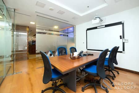 Office for Rent in Jumeirah Lake Towers (JLT), Dubai - Luxury Furnished | Partitioned | Near Metro