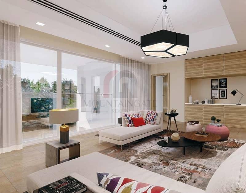 10 Luxurious  Villa Five Bedrooms In Al Zahia