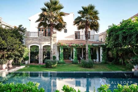 5 Bedroom Villa for Sale in Jumeirah Golf Estate, Dubai - Extended Girona   Private Pool   Upgraded