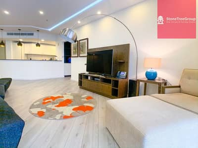 2 Bedroom Apartment for Rent in Palm Jumeirah, Dubai - Service Apartment in Anantara Residence |All Bills inclusive