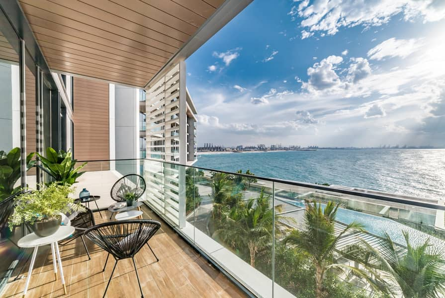 2 Modern Apt. with Breathtaking Sea View  l Blue Waters