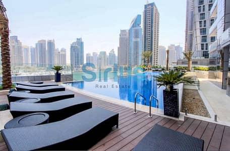 شقة 3 غرف نوم للبيع في دبي مارينا، دبي - Spacious 3 bedrooms apartment with panoramic views