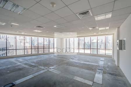 مکتب  للايجار في الخليج التجاري، دبي - Available Fitted Office | Well Located