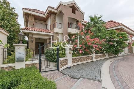 5 Bedroom Villa for Rent in Jumeirah Islands, Dubai - Luxury Furnished 5 Bed Mansion | Corner Plot | JI