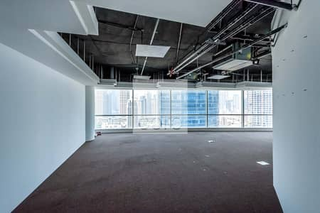 Office for Rent in Business Bay, Dubai - Vacant Fully Fitted Office | On High Floor