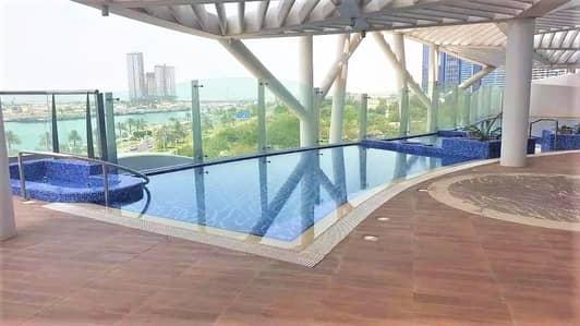 2 Bedroom Apartment for Rent in Corniche Area, Abu Dhabi - Splendid 2BR with Full Sea View in Al Reef Tower Corniche