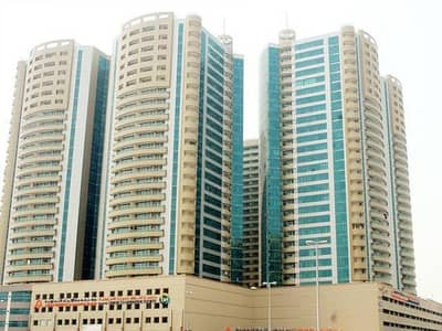2 Bedroom Apartment for Rent in Ajman Downtown, Ajman - Full sea view 2Bhk in Horizon tower for rent 1633sqft all size available in ajman
